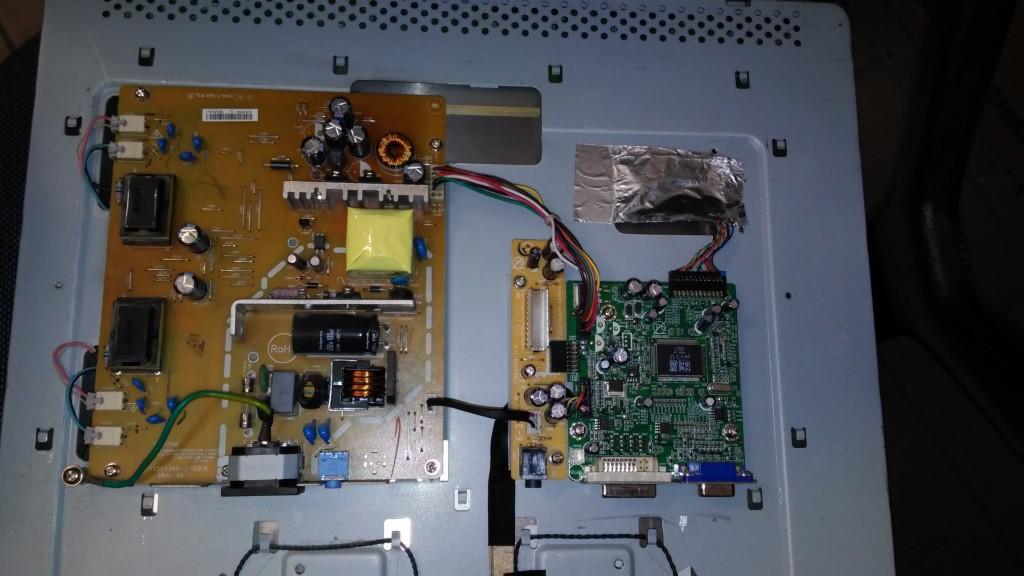 Serwis monitorów - budowa lcd