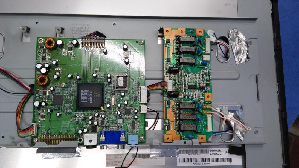 budowa monitora LCD